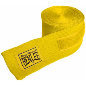 Боксерские бинты Benlee Elastic (195002/4000) Yellow 3 м